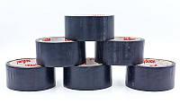 Скотч для разметки спортивных площадок C-6360-BK (р-р 20мх4,8смх20мк, черный)