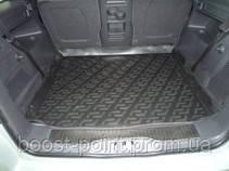 Коврик багажника (корыто)-полиуретановый, черный Opel Zafira B (опель зафира б 2005-2011)