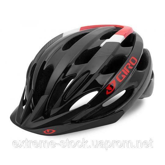 Шлем Giro Revel, black-red, universal (54-61 см)