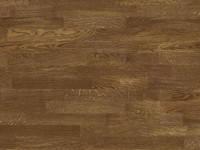 Паркетная доска  Дуб цвет Walnut 4-полосная, 207 мм, лак, Распродажа Барлинек