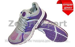Кроссовки женские Nike G81-V (р-р 36) (верх-PL, PVC, подошва-RB, фиолетовый-белый)