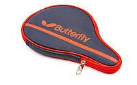 Чехол на ракетку для настольного тенниса ButterflyTERFLY 62140006 NAKAMA (PL, черно-красный,р-р 30х3х19см)