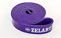 Резинка для подтягиваний (лента сопротивлен) FI-3917-V фиолет POWER BANDS (р-р 2080x32x4,5мм,мощ.М)