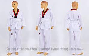 Добок кимоно для тхэквондо Mooto CO-5569 (хлопок 35%, полиэстер 65%, р-р 1-6 (110-160см), 190г на м2)