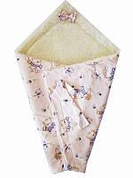Конверт для новорожденных Мульт для девочек (Конверты для младенцев из овчины)