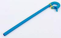 Трубка для плавания UR PL-6279 (пластик, резина)