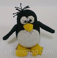 """Пингвин """"Пин"""" вязаный крючком, фото 1"""
