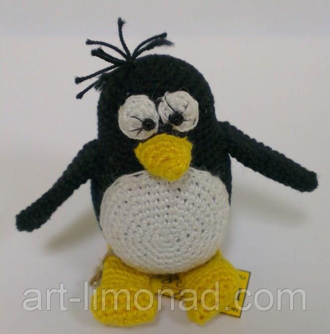пингвин пин вязаный крючком цена 100 грн купить в днепре Prom