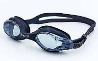 Очки для плавания SEALS 3801 (пластик, силикон, цвет черный)