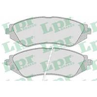 Передние тормозные колодки дисковые  LPR 05P682