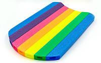 Доска для плавания PL-4340 (EPE разноцветный, р-р 46x30,5x2,7см)