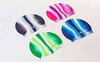 Шапочка для плавания AR-91659 POP ART UNISEX ASSORTED (силикон, цвета в ассортименте)