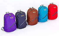 Рюкзак спортивный DAYPACK  ZELART GA-3710 (нейлон, р-р 42х25х13см, син,чер,салат,фиол,крас,оранж)