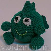 Детская Игрушка Дракоша вязаный крючком, фото 1