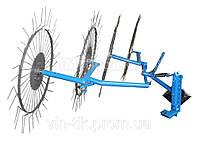"Грабли -ворошилки ""Солнышко""(2,5 м., 4-х колеса) ПроТек"