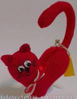 Детская Игрушка Кот в виде сердца, фото 1