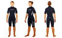 Гидрокостюм для серфинга,водных лыж жен. LEGEND PL-6406W (3мм неопрен, р-р S-XL)