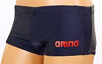 Плавки мужские ARENA AR-20180-54 DINAMIC (р-р RUS 42-54, USA 30-42, черный-красный)