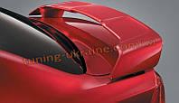Спойлер из абс пластика на Mitsubishi Lancer X 2007-2016 заводской