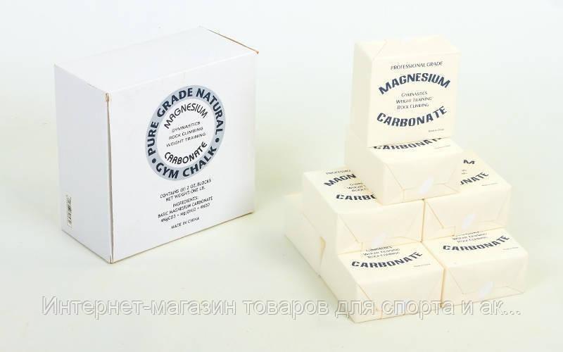 Тальк гимнастический (магнезия) C-0027 BC-1 GY240030001 (в уп. 8шт, цена за 1шт, белый) - Интернет — магазин «StimulSport.com.ua» в Харькове