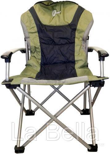 """Кресло раскладное """"Скаут"""" Ranger  со спинкой и подлокотниками"""
