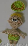 Детская Игрушка Пупс вязаный крючком, фото 1