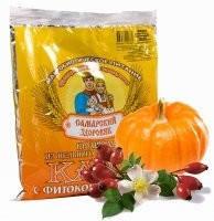 Каша самарский здоровяк №54 *Пшенично-овсяная с шиповником и тыквой*