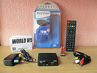 World Vision T61M цифровой эфирный тюнер Т2