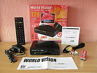 "World Vision T70 ""Любимой бабушке"" цифровой эфирный тюнер Т2"