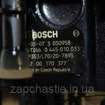Паливний насос високого тиску (ТНВД) Ніссан Интерстар 2.5 dci 8200041766, фото 3