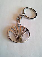 Брелок для ключей металлический оригинальный марка авто дэу Daewoo, фото 1
