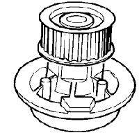CP3392 = DZ O139 Водяной насос