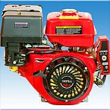 Двигатель бензиновый Weima WM190FE-L R(16 л.с пониж. редукт. электрост.), фото 3