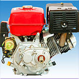 Двигатель бензиновый Weima WM190FE-L R(16 л.с пониж. редукт. электрост.), фото 2