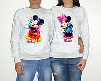 """Парные свитшоты """"Mickey and Minnie"""""""