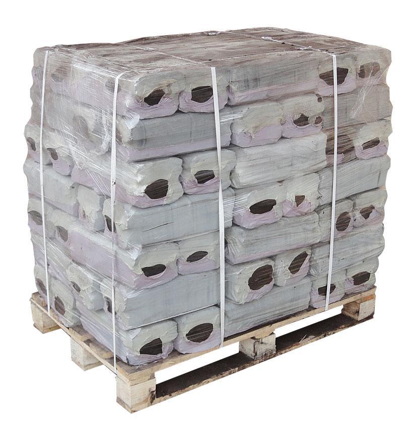 Топливные торфяные брикеты (торфорбрикеты) евроупаковка
