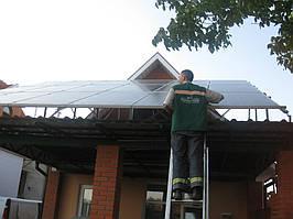 пгт. Воскресенское Николаевская обл. солнечная сетевая электростанция мощностью 10,8 кВт Fronius