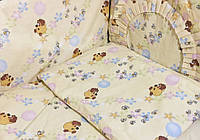 Постельное белье в детскую кроватку Винни Пух