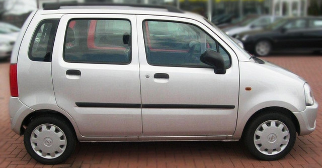 F-3 Door moldings Opel Agila I 2000-2007