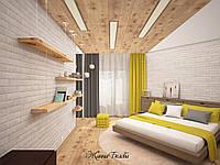 Дизайн интерьера яркой солнечной спальни
