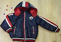 Куртка деми на мальчика от 3 до 6 лет