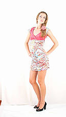 Модное миленькое легкое платице с рюшами, короткое, в 3 цветах. Акция!, фото 3