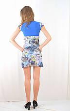 Модное миленькое легкое платице с рюшами, короткое, в 3 цветах. Акция!, фото 2