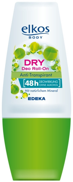 Дезодорант роликовый Elkos dry mineral 48hr 50 мл