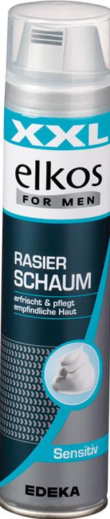 Пена для бритья Elkos Rasierschaum Sensitiv 300 ml