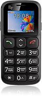 Кнопочный мобильный телефон Fly EZZY 7 Black