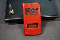Чехол книжка для Samsung Galaxy Ace 3 S7270 S7272 цвет красный