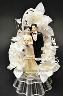 Свадебная фигурка на торт. Статуэтка жених и невеста XL013