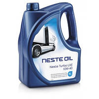 Масло моторное синтетическое Neste Turbo LXE 10W-40 4л.