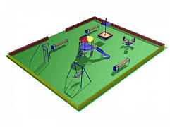 Покрытия для игровых и детских площадок